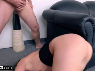 BANG Casting – Gia Paige Big Wet Pussy Roughly Fucked